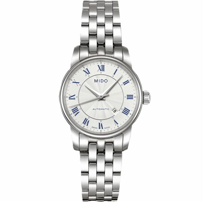 Mido 美度錶 M76004211 Baroncelli系列瑞士簡潔內斂機械腕錶  / 29mm - 限時優惠好康折扣