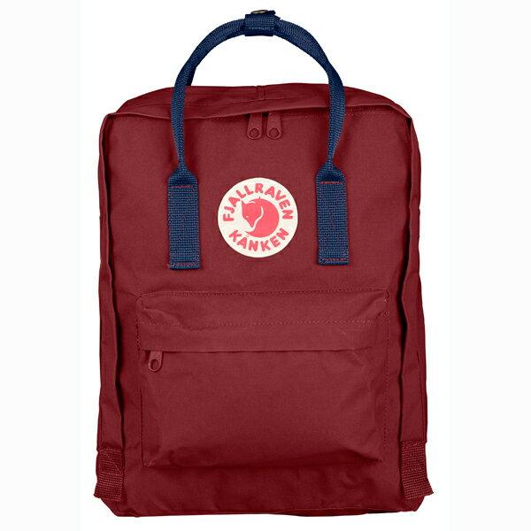 【Fjallraven Kanken 】K?nken Classic 326-540 Ox red & Royal Blue 公牛紅皇家藍【全店滿4500領券最高現折588】 0