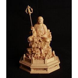 總高9.5cm 半跏A地藏王菩薩 A款  (黃揚木)