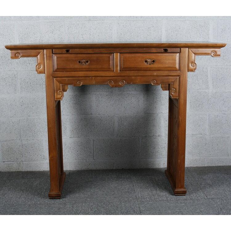 典雅高桌台(柚木)