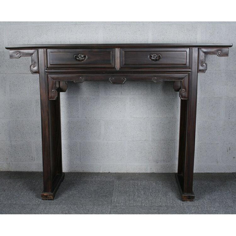 典雅高桌台(黑檀木)