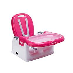【悅兒園婦幼生活館】奇哥 攜帶式寶寶餐椅-玫瑰紅