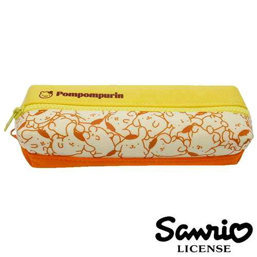 【  】布丁狗 Pom Pom Purin 雙層 筆袋 鉛筆盒 三麗鷗 Sanrio - 667347
