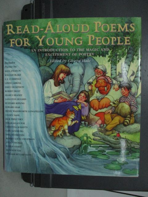 ~書寶 書T8/原文小說_QEF~Read~Aloud Poems for Young P