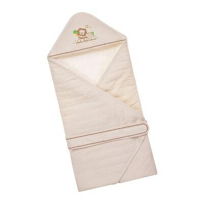 【小獅王辛巴】有機棉嬰兒包巾《愛莉妮生技》