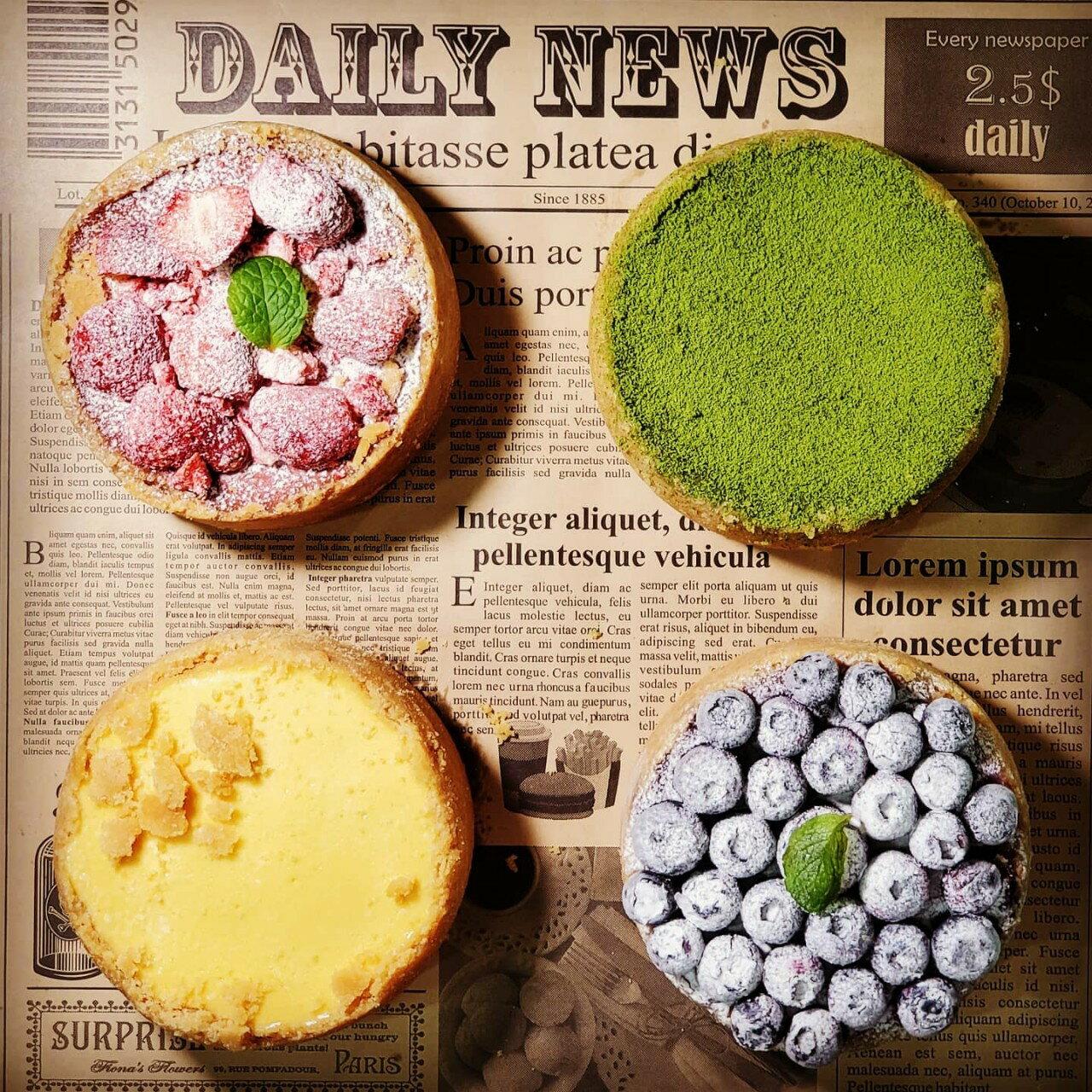 🥳[糕中生👨🎓聯誼中]🥳 4吋新上市🧀原味、🍵抹茶、🍓草莓、藍莓重乳酪 🎂芝士蛋糕 甜點 下午茶 點心 蛋糕