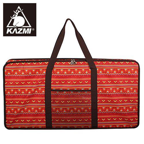 ├登山樂┤韓國KAZMI經典民族風折疊桌收納袋(82x42x10cm)-紅#K4T3B003