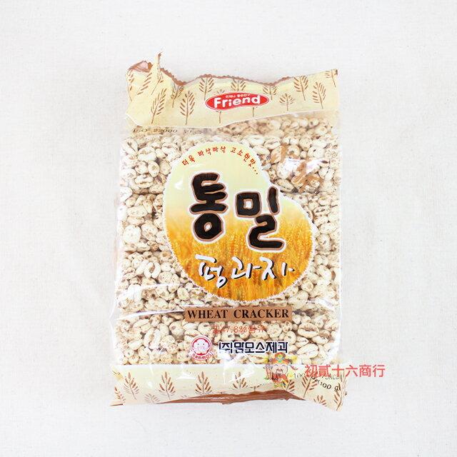 【0216零食會社】韓國長毛象mammos_小麥米香餅100g