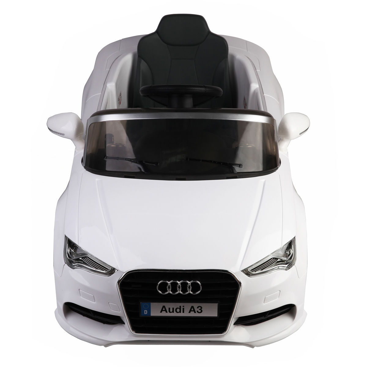 9cf72a1e3abf Costway 12V Audi A3 Licensed RC Kids Ride On Car Electric Remote Control  LED Light Music