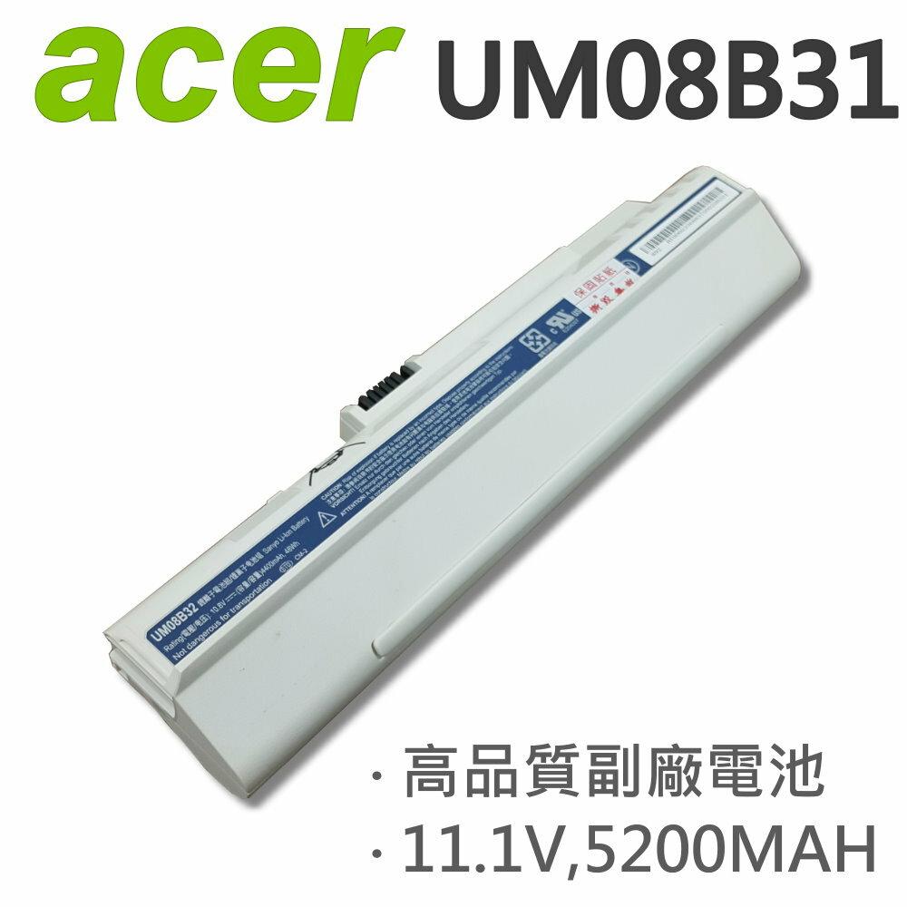 ACER 宏碁 白 UM08B31 6芯 日系電芯 電池 A110 A150 D150 D250 531h A110X AOD150 AOD250 UM08A73 UM08A74
