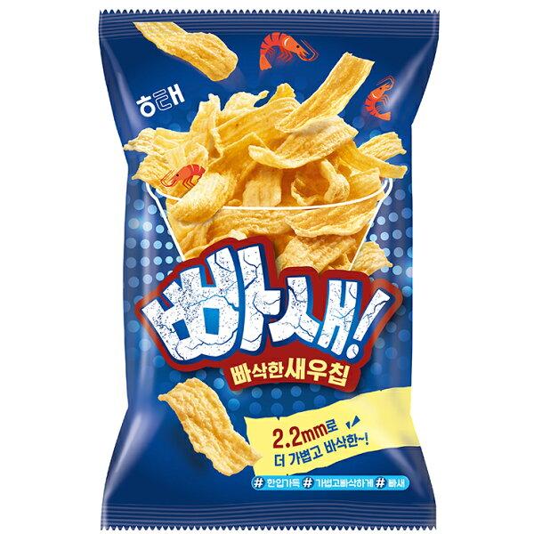 【HAITAI海太】爆脆蝦片(60g)