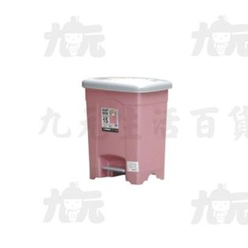 【九元生活百貨】聯府SO-015現代垃圾桶(中)15LSO015