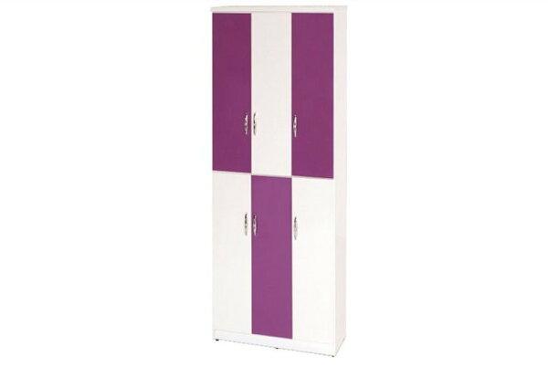 【石川家居】898-01(紫白色)鞋櫃(CT-334)#訂製預購款式#環保塑鋼P無毒防霉易清潔