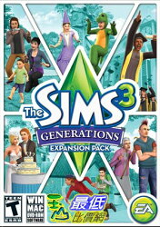[7美國直購] 2018 amazon 亞馬遜暢銷軟體 The Sims 3: Generations - Expansion Pack PC Mac