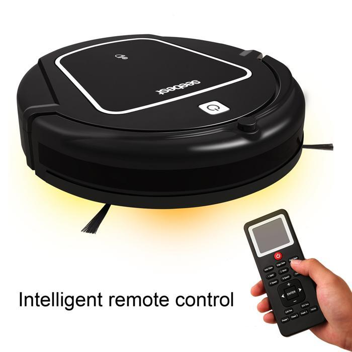 Smart Household Robotic Vacuum Cleaner Self-Charging with Water Tank and Wet/Dry Mop 3