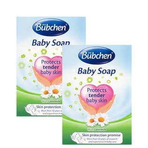 (2入特惠)Bübchen貝臣潔膚皂125g