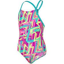 [陽光樂活]SPEEDO 女競技連身泳裝 SD809142A724 紫*藍(特價出清)