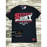 Superdry極度乾燥-男T恤推薦到跩狗嚴選 正品 極度乾燥 Superdry Logo T-Shirt 純棉 短袖 上衣 T恤 深藍 貼布 純棉就在DryDog 跩狗嚴選推薦Superdry極度乾燥-男T恤