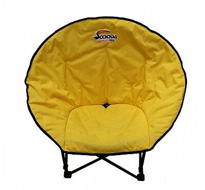 【鄉野情戶外專業】 SCOODA |台灣|  速可搭 月亮椅休閒椅 露營椅 折疊椅 戶外躺椅 貝殼型椅 _C-012