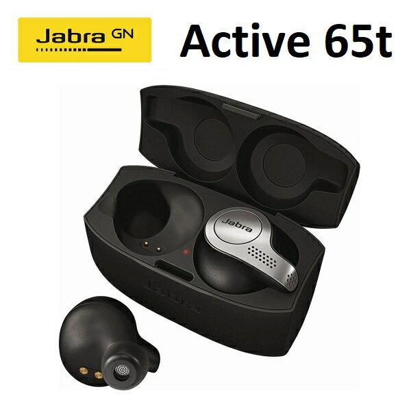 【免運費】Jabra Elite Active 65t 真無線運動藍牙耳機-鈦黑 (公司貨)