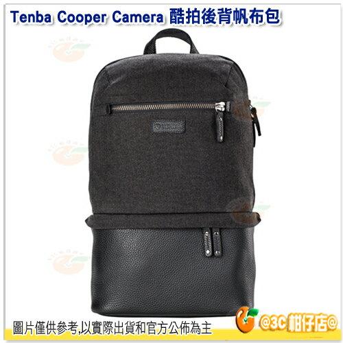 TenbaCooperslim酷拍後背帆布包637-407灰公司貨10吋平板相機包後背包