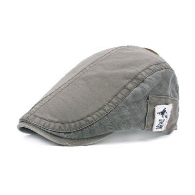 貝雷帽鴨舌帽-水洗棉布休閒遮陽男女帽子5色73tv90【獨家進口】【米蘭精品】