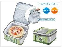 露營冰桶推薦到【露營趣】中和 日本 LOGOS LG81670560 INSUL10PIZZA保溫冷提袋7L 保冷袋 冰桶 保冰袋 保溫袋 起司蛋糕袋就在露營趣推薦露營冰桶