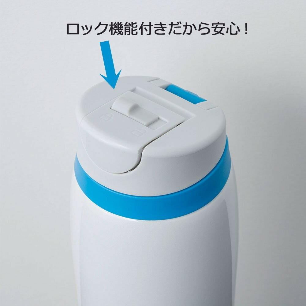 【日本直輸入-預購】TIGER虎牌保溫杯-彈蓋式480CC 不鏽鋼真空~ 日本限定款 - 白色 1