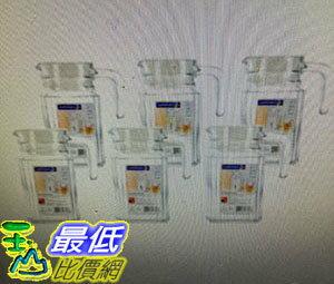 [COSCO代購] Luminarc 玻璃冷水壺6件組 500毫升 W114291