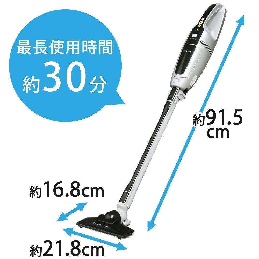 【代購】全新公司貨 IRIS OHYAMA IC-SLDC1 無線吸塵器 超輕量 氣旋 直立式 可伸縮 SLDC1【星野日貨】 9