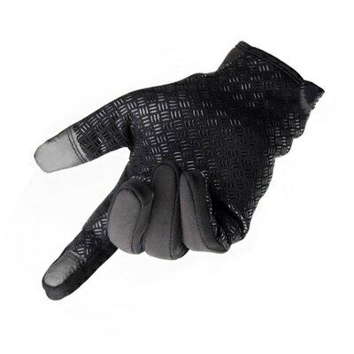 防風手套 觸控手套-防潑水騎行登山保暖男女手套3色73pp506【獨家進口】【米蘭精品】 2