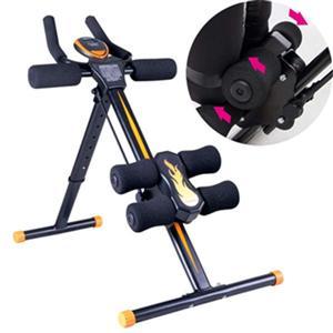 tokuyo TU-168 提臀健腹機 滾輪可左右搖擺-強化側腹肌 滾輪速度顯示-專屬個人運動頻率 新增兩條彈性拉繩-運動更省力