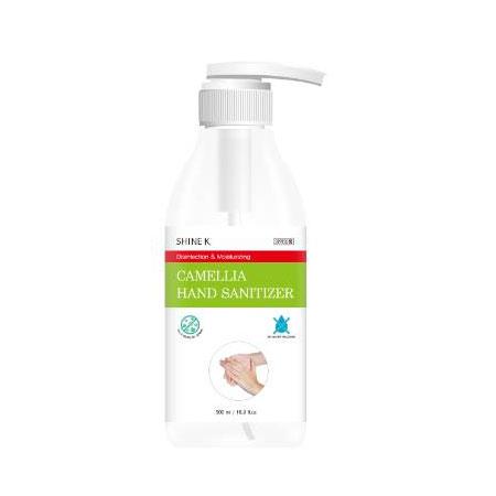 韓國 SHINE K 酒精抗菌乾洗手凝膠 家庭用 500ml 酒精 乾洗手 洗手 乾洗手凝膠 防疫 抗菌【N601152】