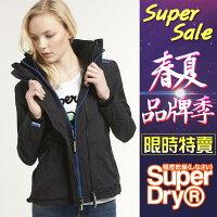 風衣外套推薦到★【女款】 Superdry 極度乾燥 Hooded Technical Windcheater 網眼風衣夾克-0771就在SIMPLE推薦風衣外套