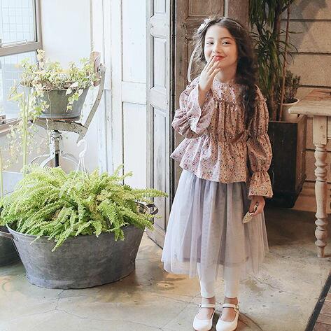 17春~甜美優雅紗裙褲♥(5~13)