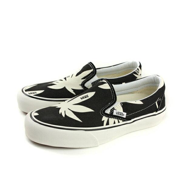VANSClassicSlip-On休閒布鞋懶人鞋黑白男女鞋181060801no494