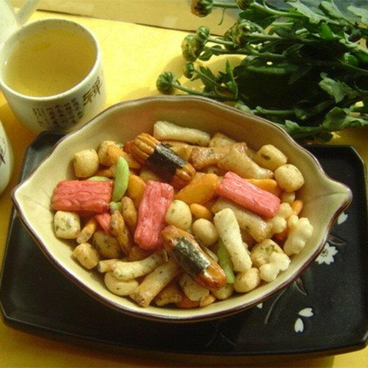 【日式和風醬太郎綜合米果 】《易買健康堅果零嘴坊》