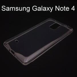 超薄透明軟殼  透明  Samsung Galaxy Note 4 N910 N910U