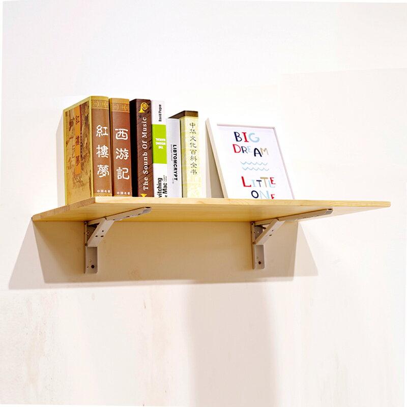 折疊壁掛桌 牆上折疊桌實木牆壁折疊桌壁掛桌置物架書桌餐桌靠牆掛牆桌免打孔『SS3437』 0
