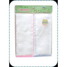 【淘氣寶寶】DOOBY大眼蛙純白紗布澡巾(2入)