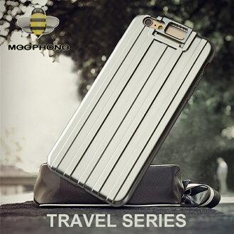 旅行系列 Apple iPhone 6 Plus/6S Plus (5.5吋) 保護殼/保護套/軟殼/行李箱造型/背蓋/可立架