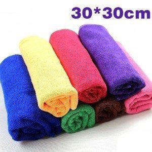 100%純超細纖維洗車毛巾 吸水巾 擦車 開纖魔布 洗車布 毛巾 擦車布 美容黏土 鹿皮巾 超細纖維布 79D