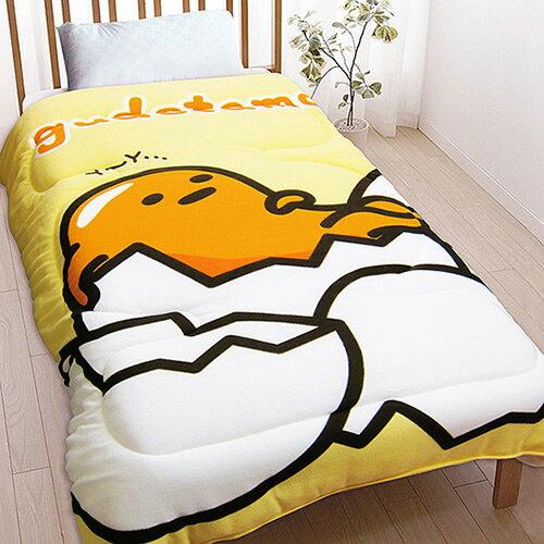 【享夢城堡】刷毛毯被150x195cm-蛋黃哥gudetamaㄚ~ㄚ