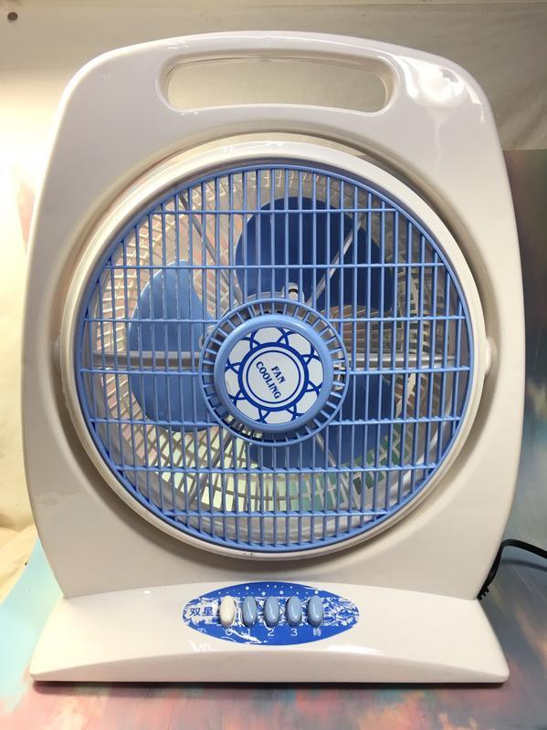 免運 双星牌 10吋箱扇TS-1006~箱扇、電風扇、風扇、涼風扇《八八八e網購