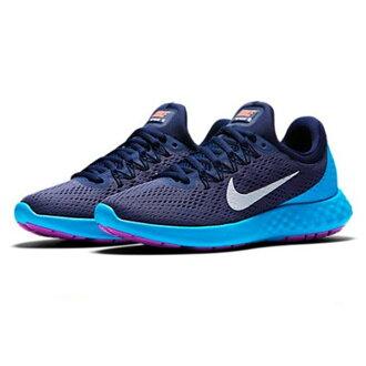 【NIKE】WMNS NIKE LUNAR SKYELUX 運動鞋 慢跑鞋 藍色(女)855810501