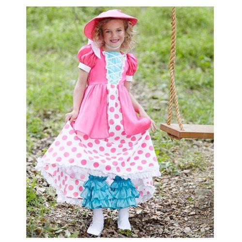 Polka Dot Bo Peep Child Costume 1