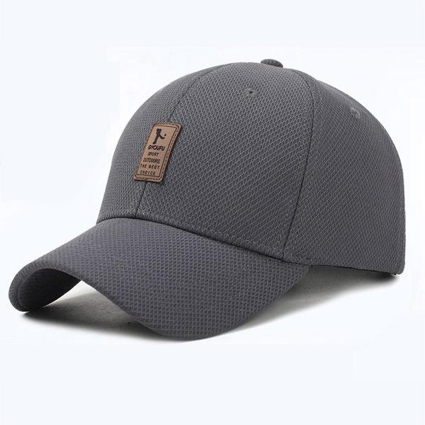 PS Mall 春夏中標網布棒球帽男 【G1009】 0