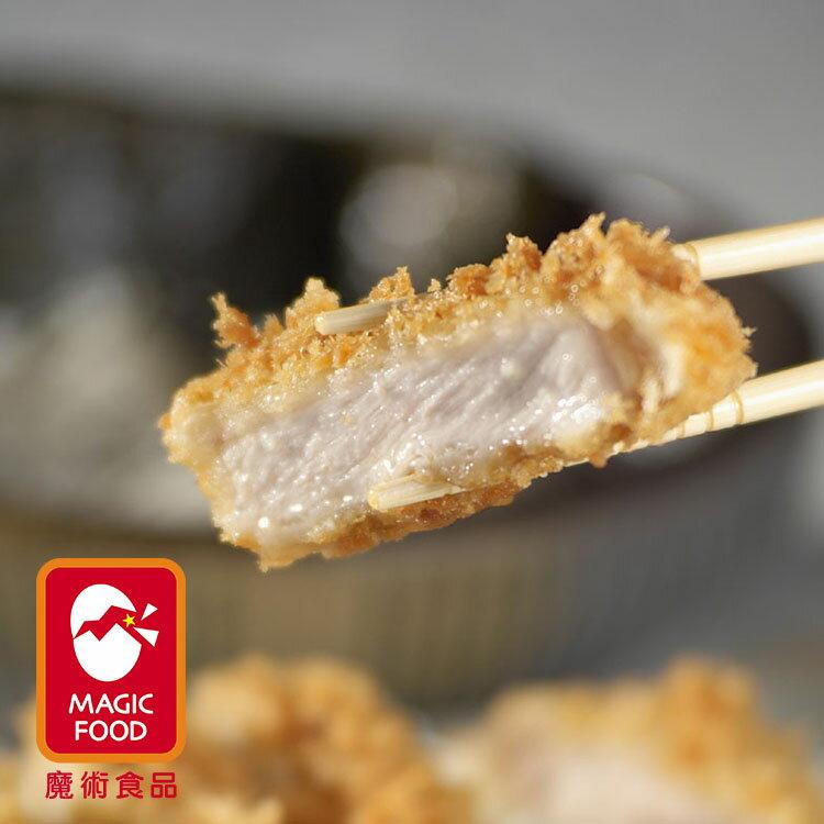 《魔術食品》日式大里肌豬排D-100(4片/包)(厚約1.4cm)(G0302)