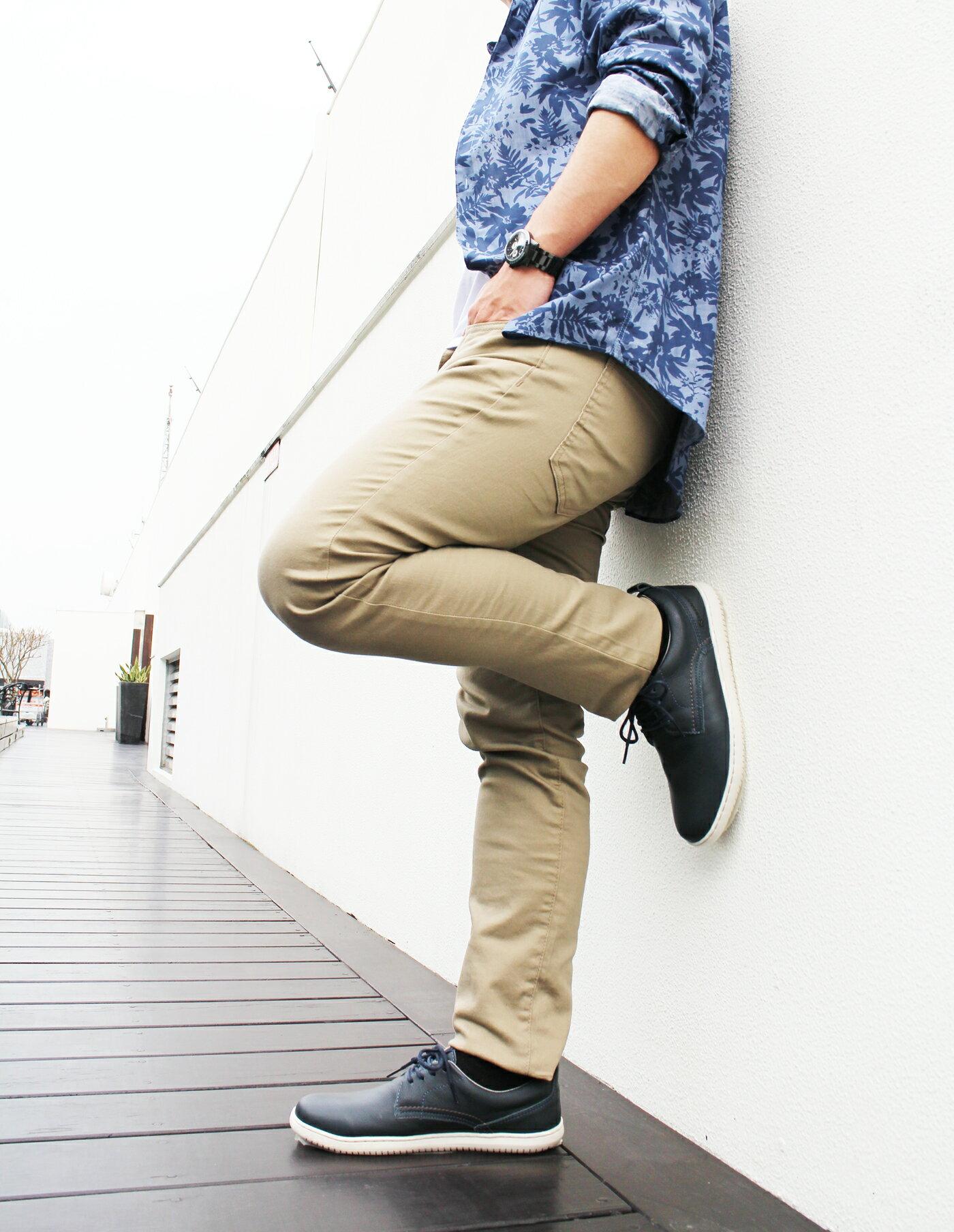【KILDARE 促銷7折│全店免運】KILDARE綁帶休閒鞋 藍綠 男 慢跑 3