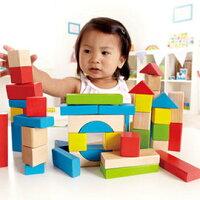 積木玩具推薦到【德國Hape愛傑卡】彩色創意積木組(50塊)就在Hape Taiwan推薦積木玩具